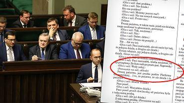 Nocna awantura w Sejmie ws. KRS. Kancelaria publikuje stenogramy.