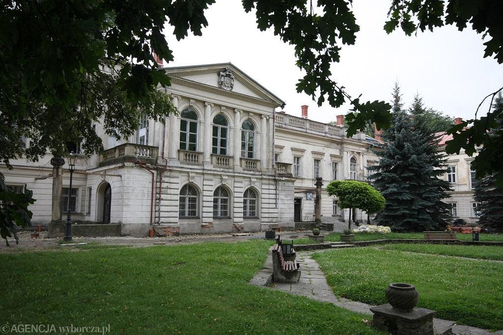 Pałac w Żywcu to jedna z historycznych pamiątek obecności Habsburgów na południu Polski.