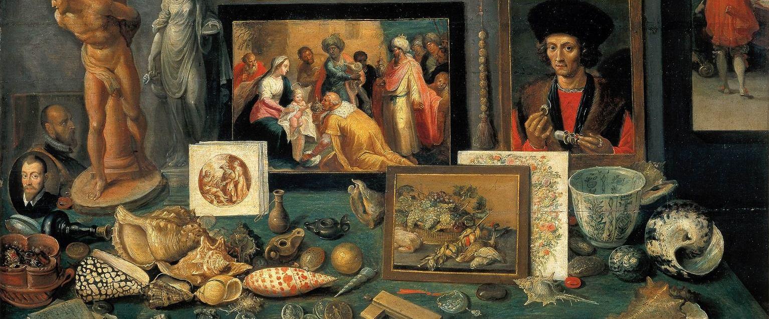 Frans Francken Młodszy, 'Gabinet sztuki i osobliwości', 1636 (fot. Wikimedia Commons)