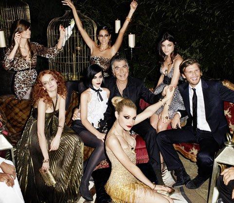 Kolekcja Roberto Cavalli do H&M - złoto i glamour