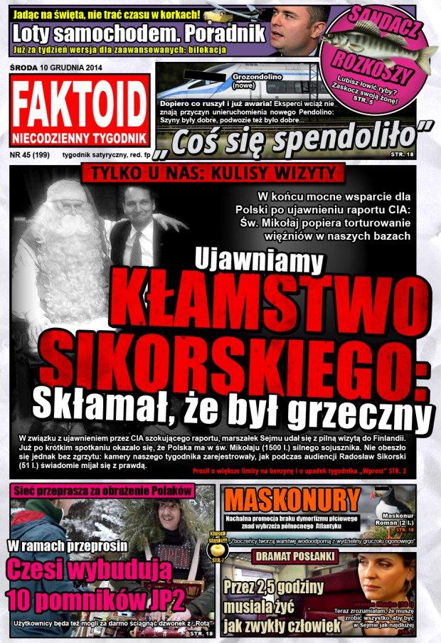 Faktoid, 10 grudnia 2014, nr 45 (199) -  - Faktoid