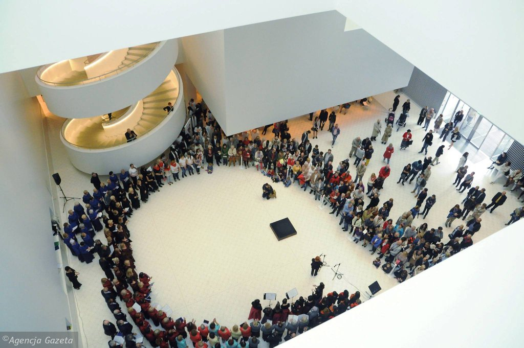 Wnętrze filharmonii / ŁUKASZ WĄDOŁOWSKI