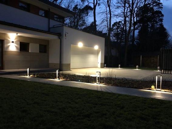 Słupek ogrodowy LED 8W 220-240V