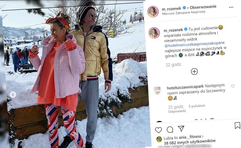 Małgorzata Rozenek/Instagram/Screenshot