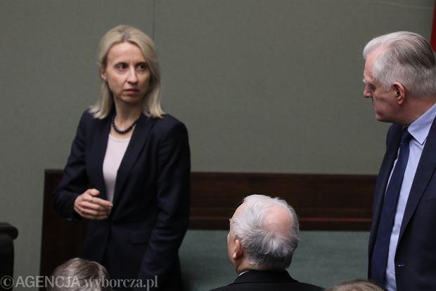 Minister finansów Teresa Czerwińska, Jarosław Kaczyński, Jarosław Gowin