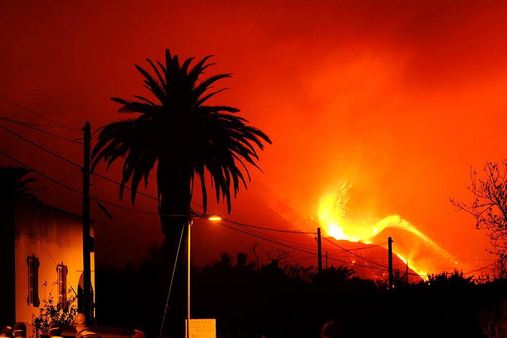 Hiszpania. Kolejna erupcja wulkanu na La Palmie