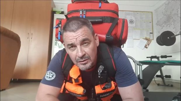 Adam Piechnik, ratownik