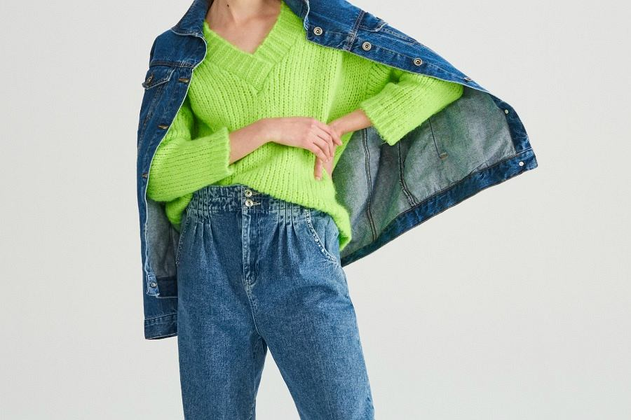 jeansowe ubrania