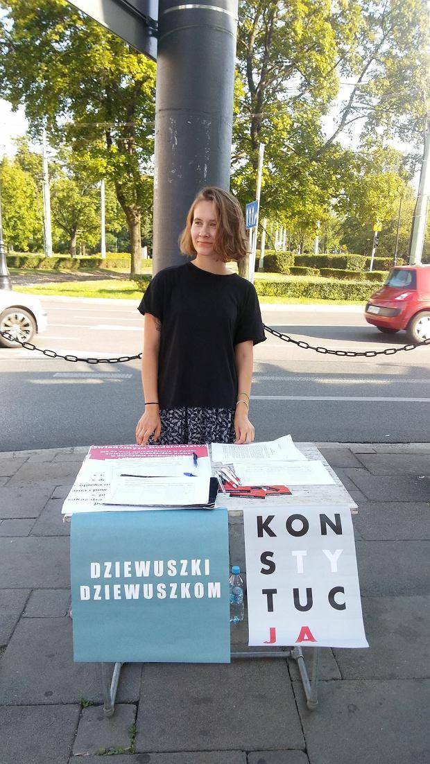 Kasia Kuzka z grupy Dziewuszki Dziewuszkom