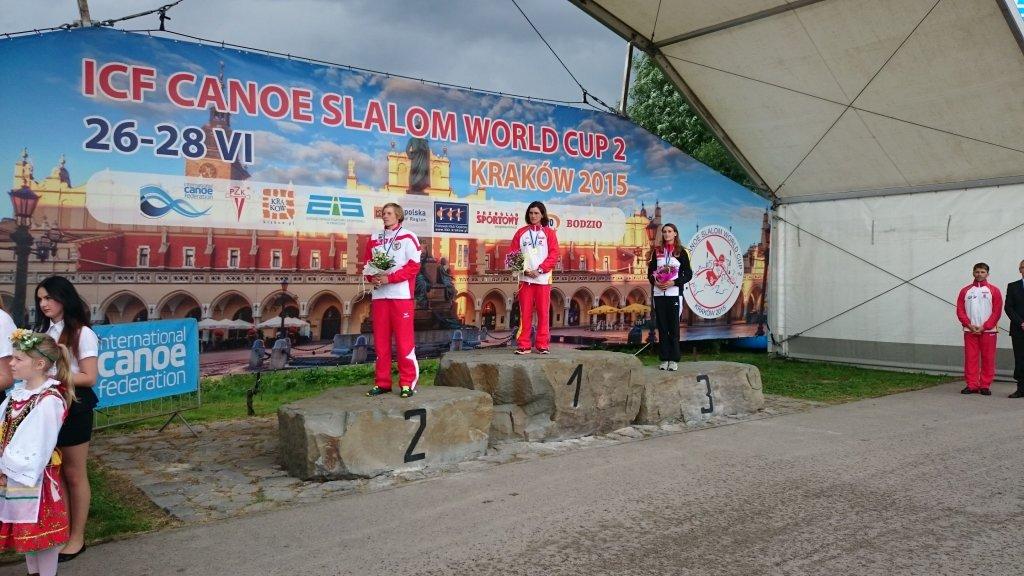 K1 podium kobiet