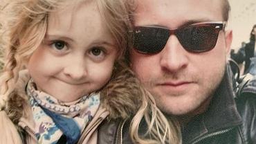 Borys Szyc składa córce urodzinowe życzenia