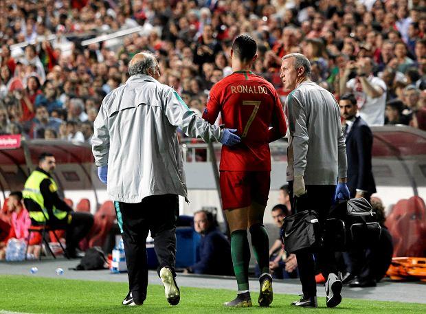 330e21bf8 Cristiano Ronaldo poleciał do Barcelony. Portugalczyk przeszedł dodatkowe  badania