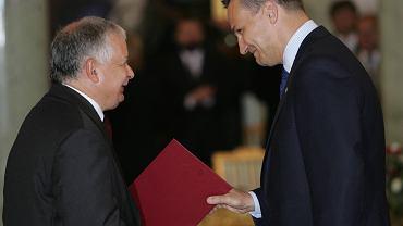 Powołanie rządu Jarosława Kaczyńskiego