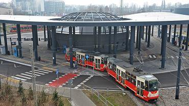 Katowice, centrum przesiadkowe na Brynowie