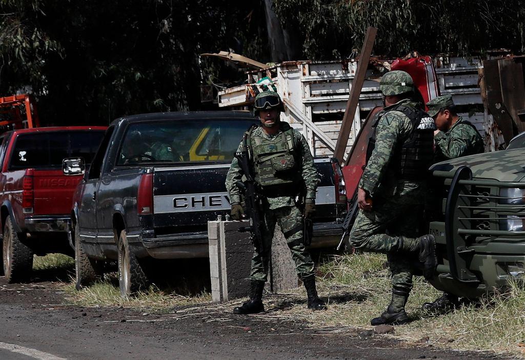 Gwardia Narodowa w Meksyku (zdjęcie ilustracyjne)