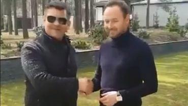 Zenek Martyniuk i Tomasz Frankowski