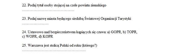 Fragment egzaminu z 17 czerwca 2013 r.