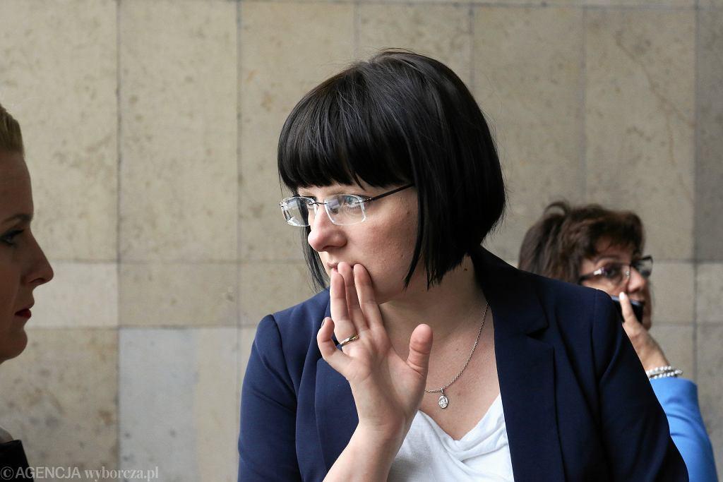 !Komisja sejmowa o zakazie aborcji, na zdjęciu: Kaja Godek