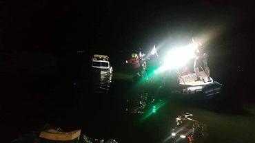 Akcja na jeziorze Otmuchowskim