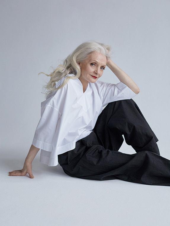 Valentina zachwyciła swoją urodą nie tylko założyciela Oldushki, ale i redaktorów 'Vogue'a'