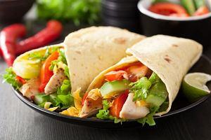 Tortilla w stylu orientalnym - szybko i pysznie