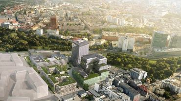 Rozpoczęła się budowa trzeciego biurowca w kompleksie Nowy Rynek