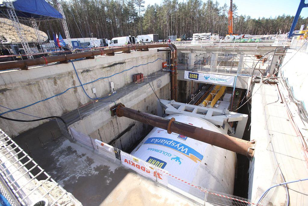Świnoujście, 5 marca 2021 r. Uroczyste rozpoczęcie wiercenia tunelu pod Świną