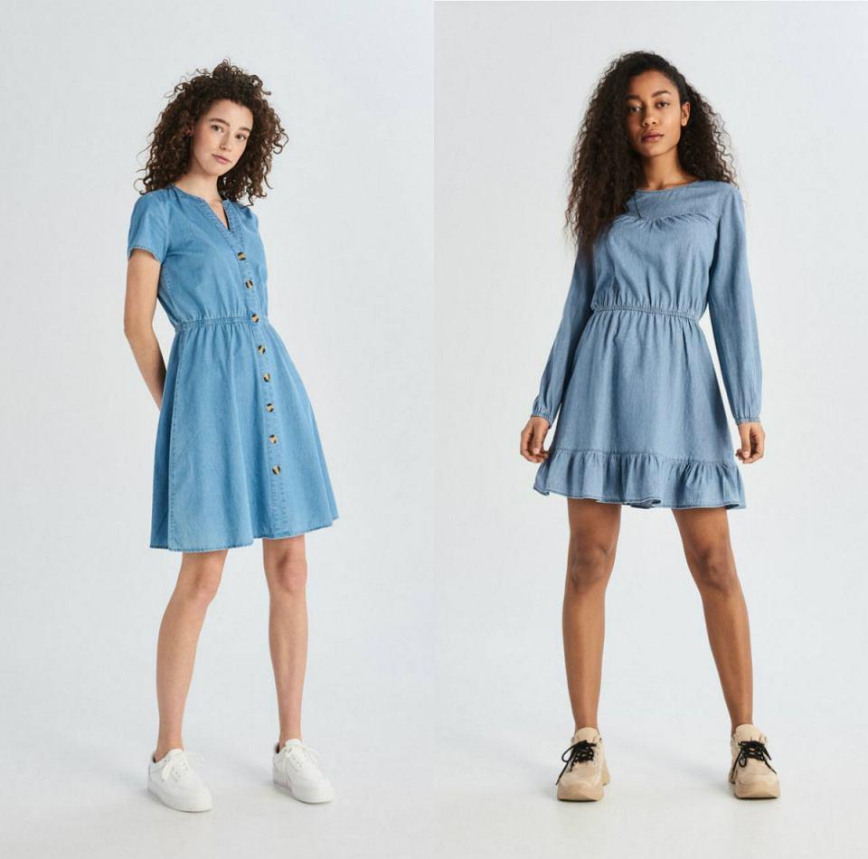Dziewczęce jeansowe sukienki na lato