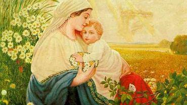 ''Maryja z Dzieciątkiem Jezus'' |