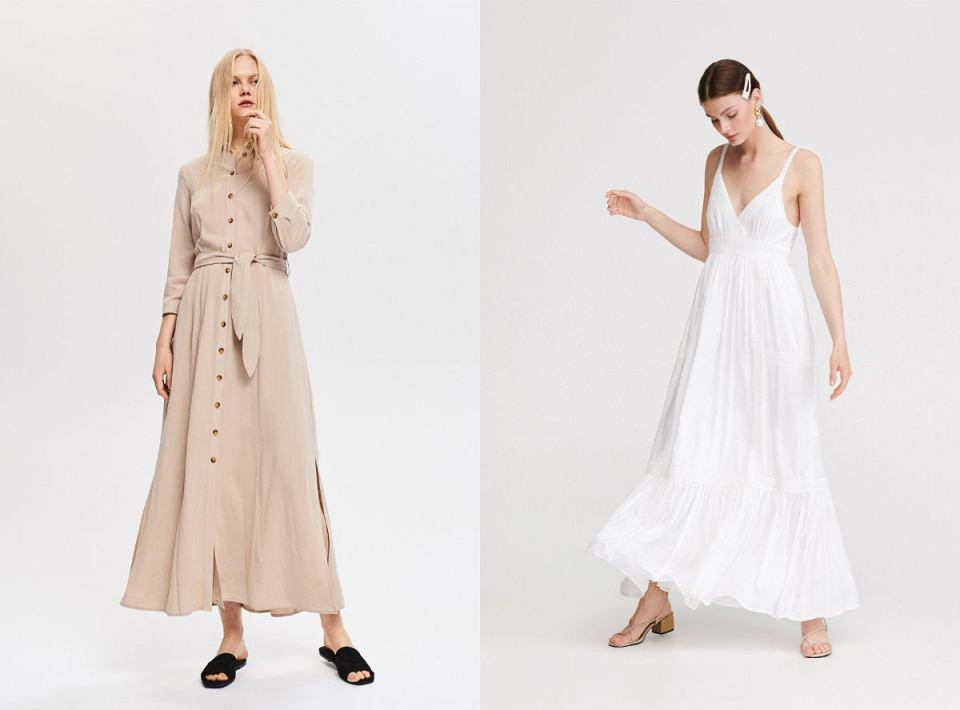 75819a2592 Letnia sukienka - długa