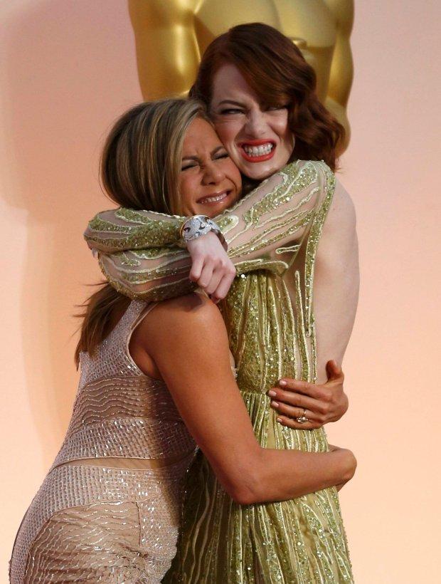 Jennifer Aniston i Emma Stone