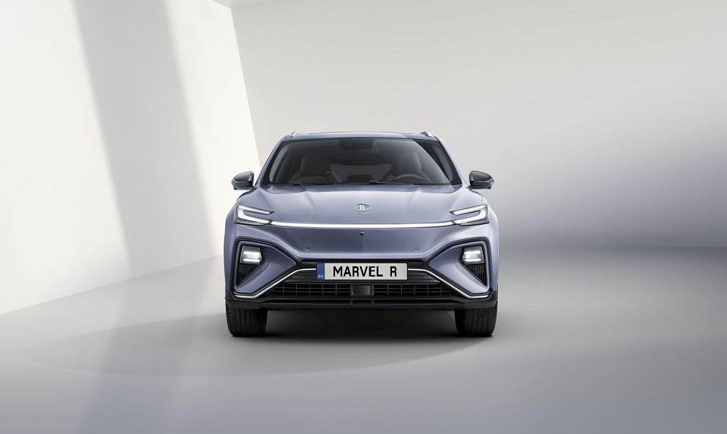 MG Marvel R - elektryczny SUV z Wielkiej Brytanii