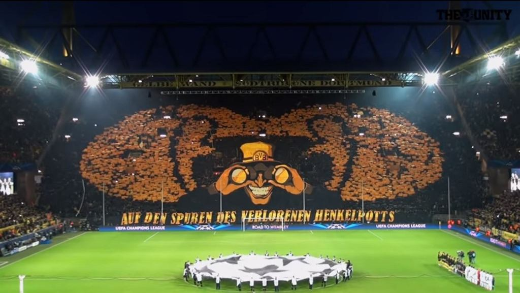 Średnia frekwencja na europejskich stadionach