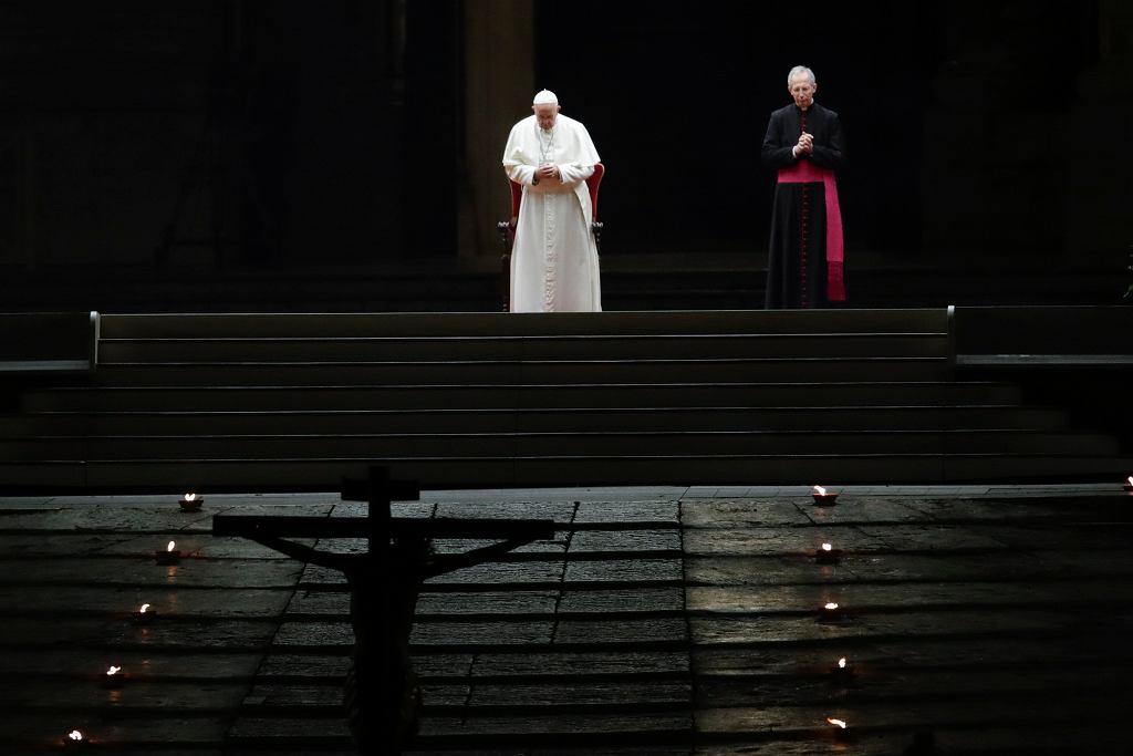 Droga Krzyżowa w Watykanie 10 kwietnia