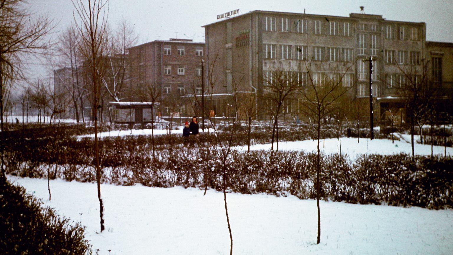 Dom kultury i bloki więzienne w Jaworznie, lata 70. XX wieku