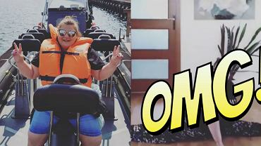 Dominika Gwit z okazji 100 tys. obserwatorów zrobiła szpagat! Fani oniemieli [WIDEO]