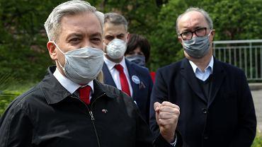 Robert Biedroń. Włodzimierz Czarzasty. Lewica o porozumieniu Kaczyńskiego i Gowina