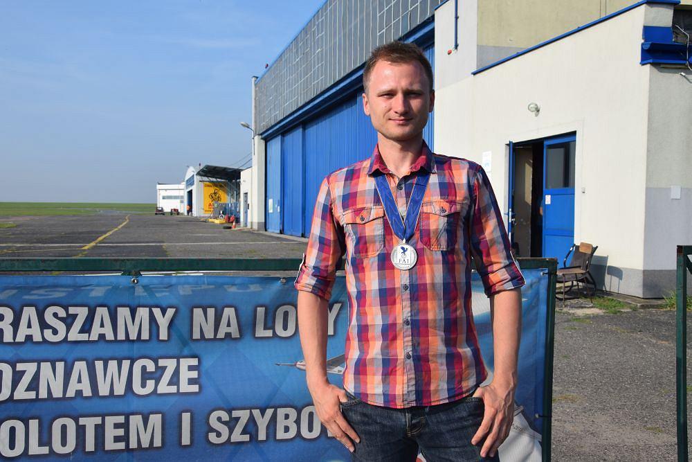 Marcin Skalik ze srebrnym medalem MŚ
