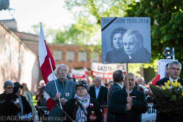 Obchody 73. miesięcznicy katastrofy pod Smoleńskiem