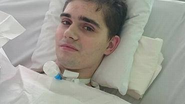 Mateusz przebywa w szpitalu