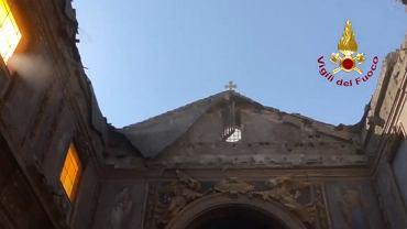 W Rzymie runął dach kościoła z XVI wieku