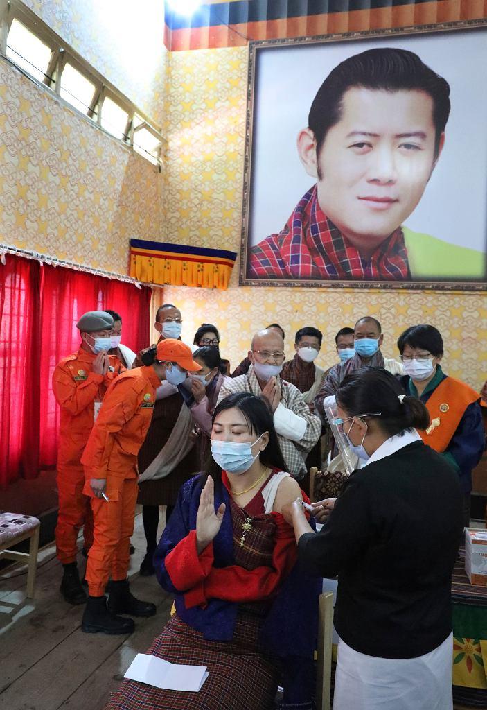 Szczepienia w Królestwie Bhutanu
