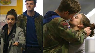 Julia Wieniawa i Antoni Królikowski od marca są nierozłączni. Nawet gdy początkująca aktorka wybierała się na urlop do Włoch, na lotnisku towarzyszył jej ukochany, który wprost nie mógł wypuścić jej z rąk. Zobaczcie, jak czule żegnali się, zanim Wieniawa ruszyła do samolotu!