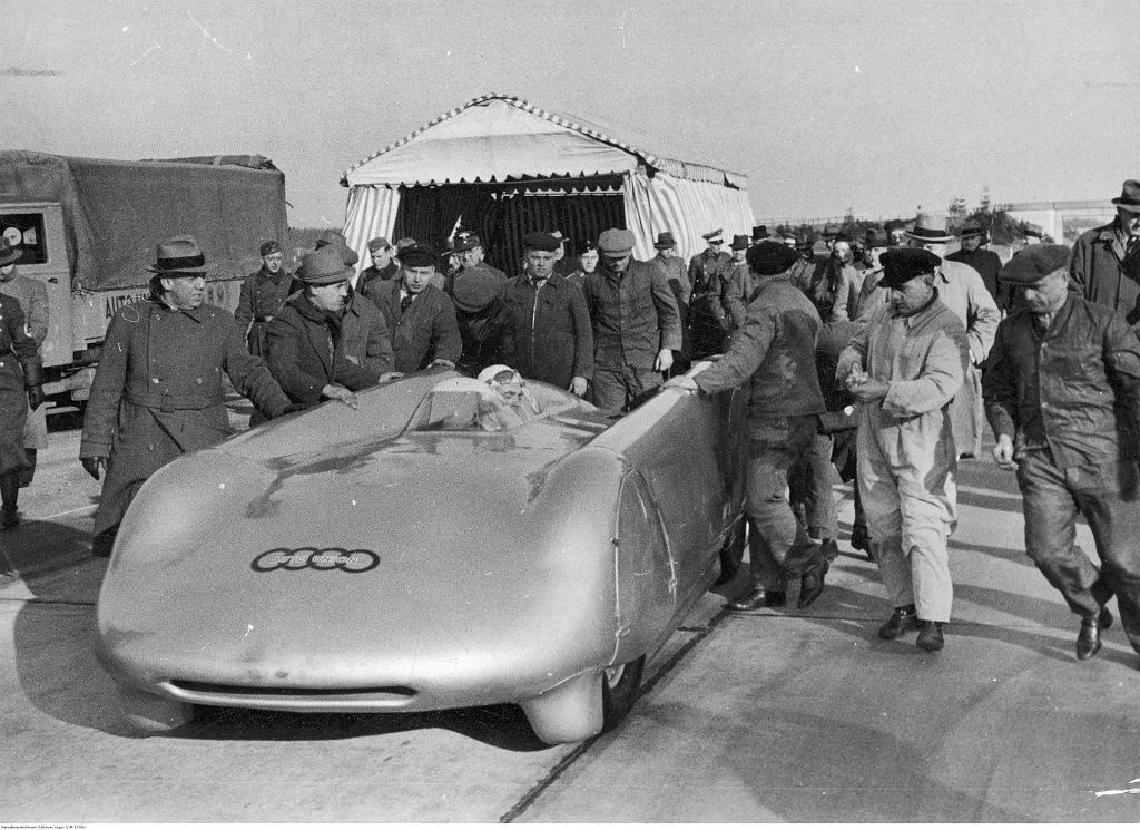 Bernd Rosemeyer i Auto Union, 1938 r.