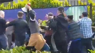 Zamieszki przed meczem krykieta