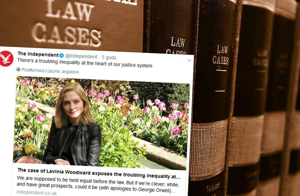 Lavinia Woodward może uniknąć kary