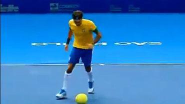 Roger Federer jako piłkarz
