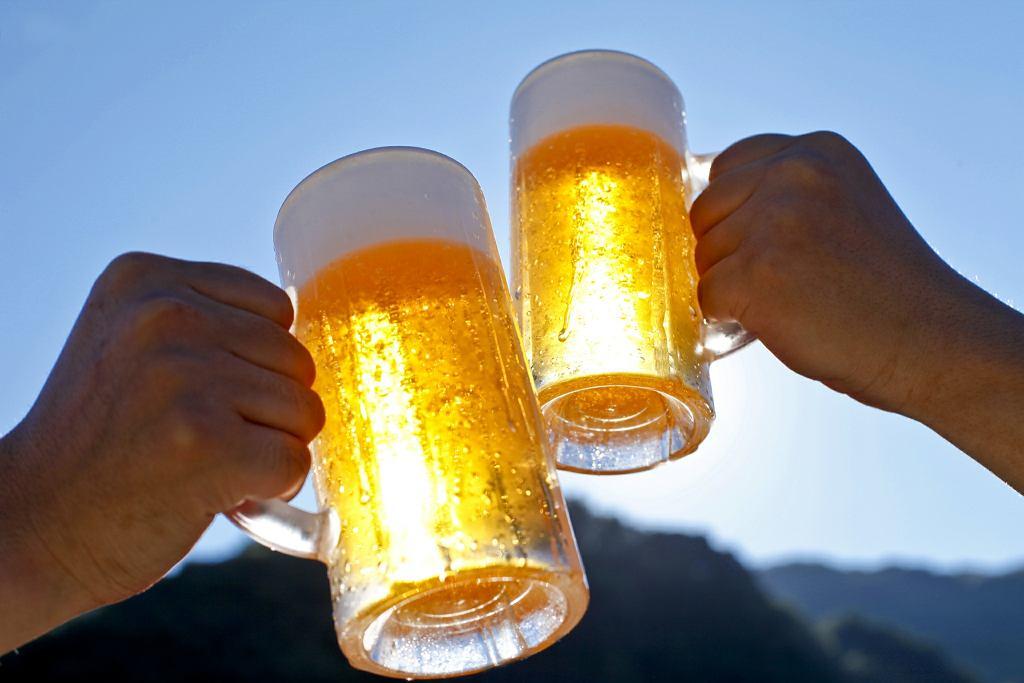 Jedno piwo, góra dwa...
