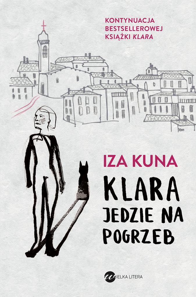 Okładka książki 'Klara jedzie na pogrzeb'