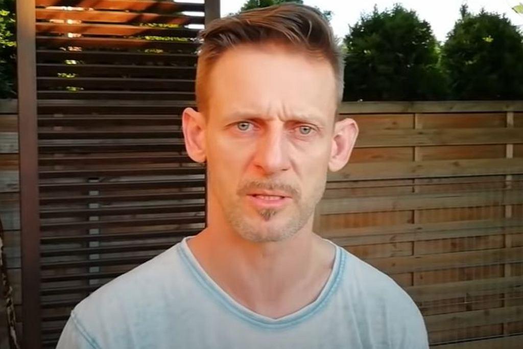 Michał Wójcik z kabaretu Ani Mru Mru